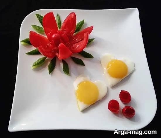 دیزاین شیک نیمرو صبحانه