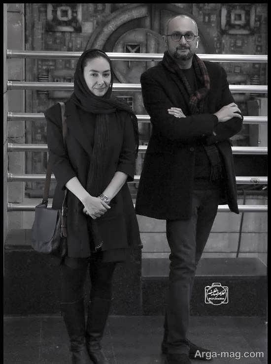پوشش ساده هانیه توسلی در اکران مردمی فیلم «بی صدا حلزون»