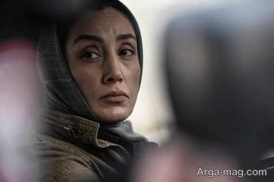 رونمایی از گریم متفاوت هدیه تهرانی ستاره سینمایی در «همگناه»