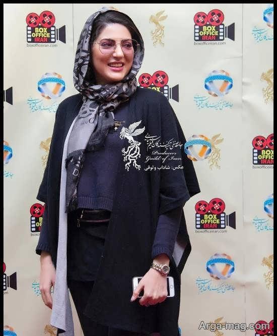 تیپ لاکچری هلیا امامی در جشنواره فیلم فجر/عکس