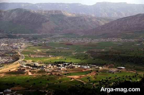 منطقه توریستی ایلام