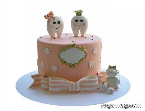 تزیین کیک جشن دندونی