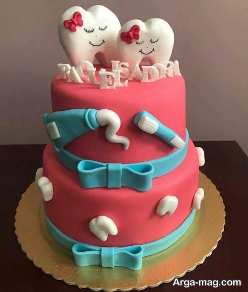 تزیین کیک برای جشن دندونی