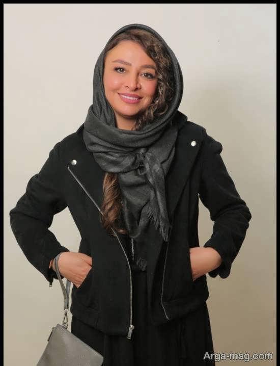 مدل موی زیبای مه لقا باقری در سی و هشتمین جشنواره فیلم فجر