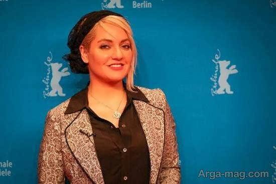 تیپ لاکچری مهناز افشار در جشنواره برلین/عکس