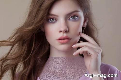 آرایش صورت زیبا و خاص زنانه