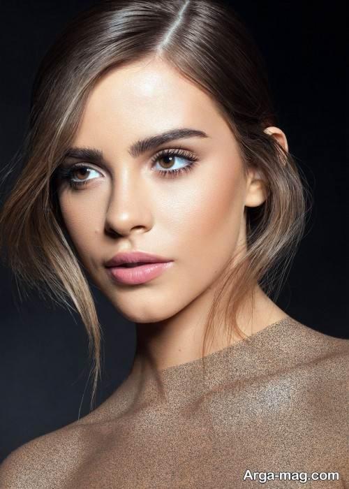 آرایش صورت بی نظیر زنانه