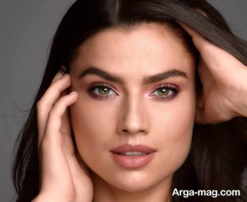 آرایش صورت ملایم برای عید نوروز