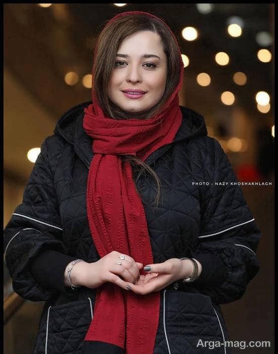 پوشش جذاب مهراوه شریفی نیا در ششمین روز جشنواره فیلم فجر