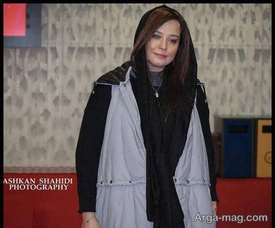 تیپ جذاب مهراوه شریفی نیا در جشنواره فیلم فجر/عکس
