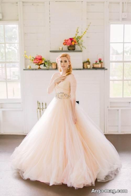 مدل لباس عروس نباتی جدید