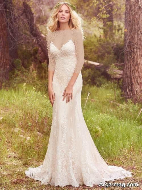 لباس عروس نباتی