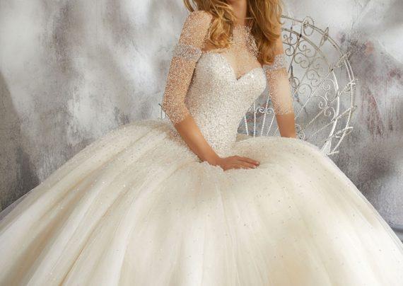 مدل لباس عروس نباتی