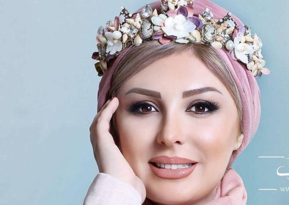 نیوشا ضیغمی هنرپیشه معروف و خوش چهره ی ایرانی