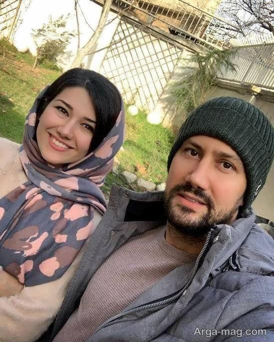 عکس خواهر و برادری نیلوفر و شاهرخ استخری بازیگر محبوب