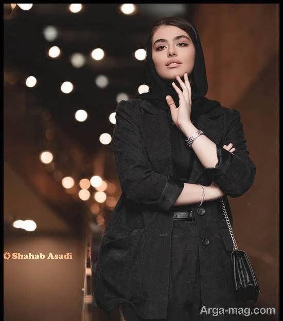 چهره ی زیبا و دوست داشتنی ریحانه پارسا در جشنواره فیلم فجر