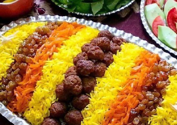 یکی از غذا های اصیل ایرانی ساطری پلو می باشد
