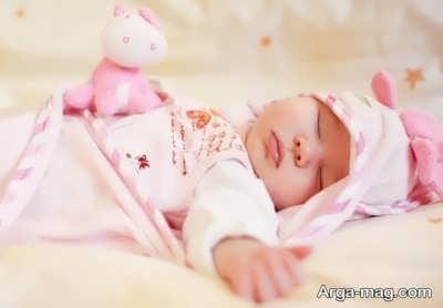 آه کشیدن کودکان در زمان خواب