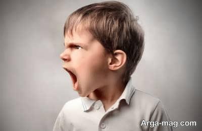 وجود خشم در کودکان