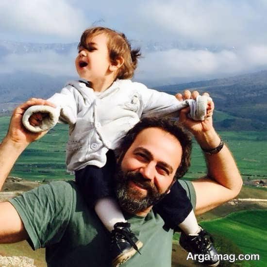 شرح حال جالب آرش مجیدی و همسرش
