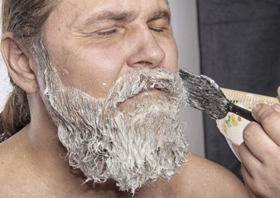 رنگ کردن ریش