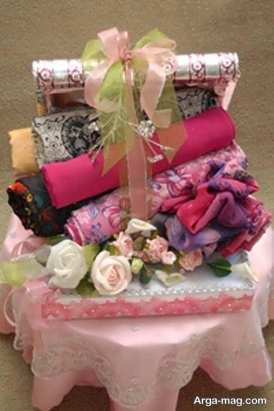 تزیینات شیک برای عیدی عروس