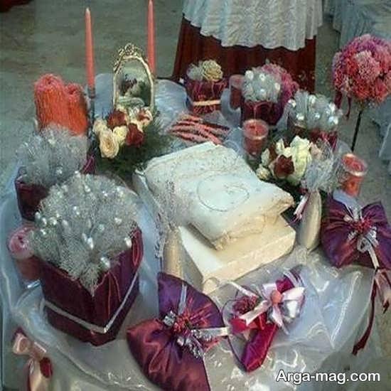 عکس تزیینات عیدی عروس