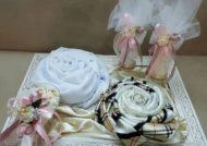 تزیین زیبای عیدی عروس