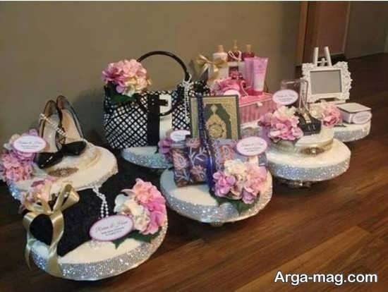 تزیینات جذاب برای عیدی عروس