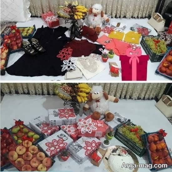 تزیین دیدنی عیدی عروس