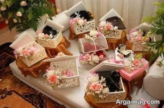 تزیین جذاب عیدی عروس
