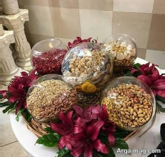 تزیینات شیک عیدی عروس