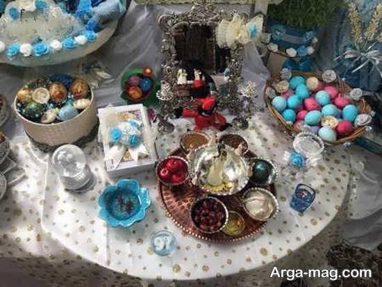 تزیینات عیدی عروس و داماد