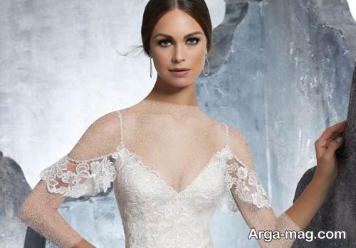 شینیون ساده عروس