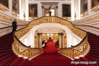 کاخ سلطنتی باکینگهام در لندن