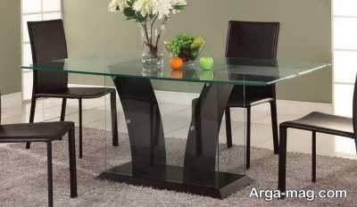 تمیز کردن میز شیشه ای با تکنیک های خاص