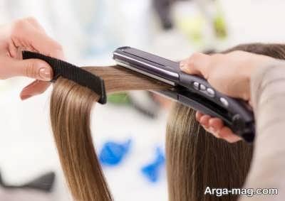 برخی عوارض صاف کردن مو