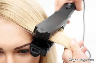 پیامدهایی برای صاف کردن مو