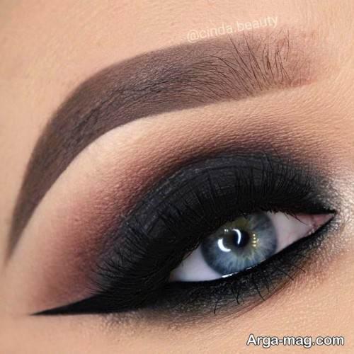 آرایش چشم شیک زنانه