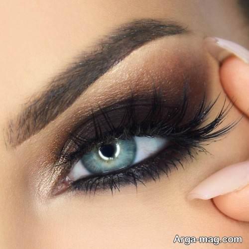 آرایش چشم تیره جدید