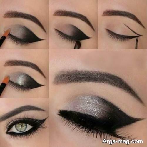 آرایش چشم تیره مخصوص خانم ها