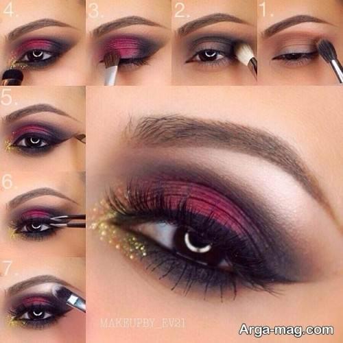 میکاپ چشم زنانه