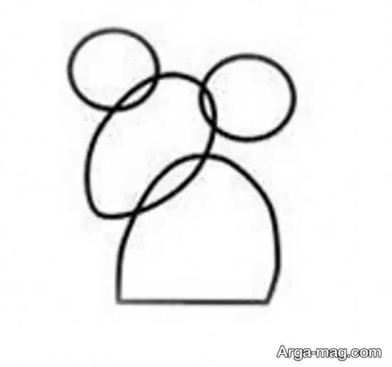 آموزش نقاشی موش
