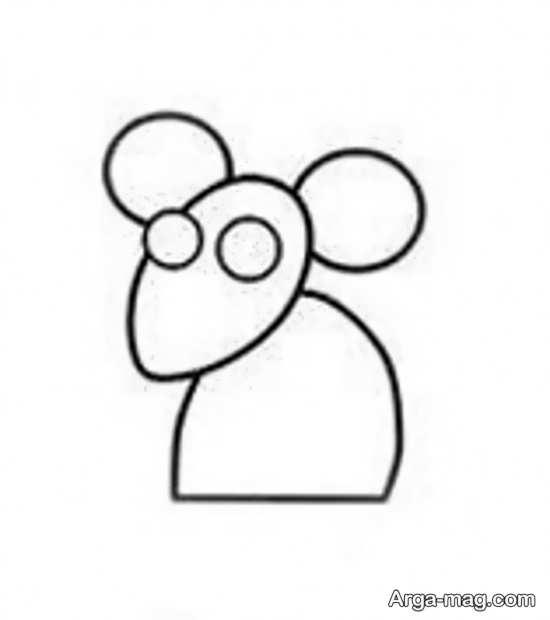 آموزش سریع نقاشی موش