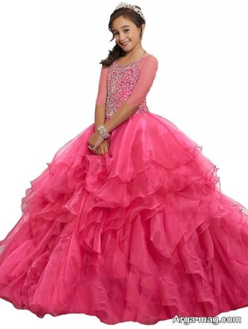 لباس مجلسی زیبا دخترانه