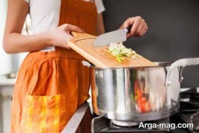 از بین بردن بوی بد آشپزی و پخت و پز