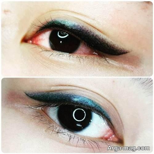 تاتو خط چشم زیبا و جدید