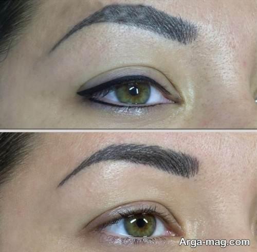 تاتوی خط چشم زیبا و جدید