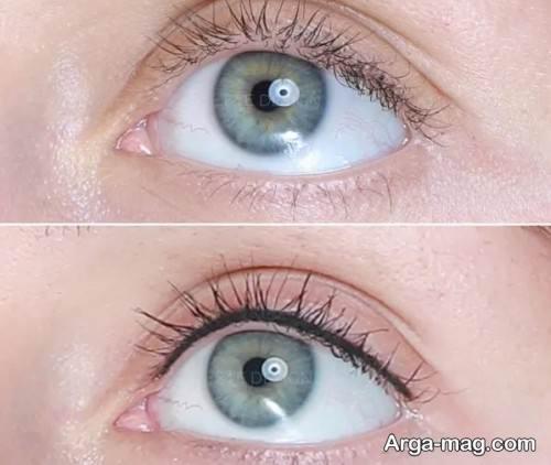 تاتو خط چشم دخترانه