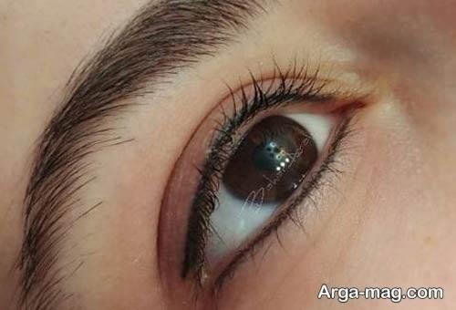 مدل تاتو خط چشم شیک